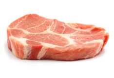 Fresh pork Royalty Free Stock Photos