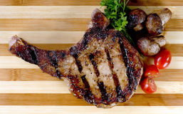 Fresh Pork Chop. Royalty Free Stock Photography