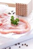 Fresh pork meat Royalty Free Stock Photo