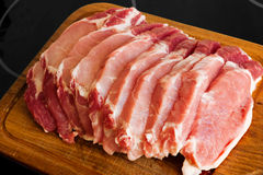 Fresh pork meat Royalty Free Stock Photo