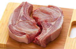 Fresh pork meat Stock Photos