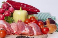 Fresh pork meat Stock Photo