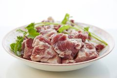 Fresh pork Stock Photos