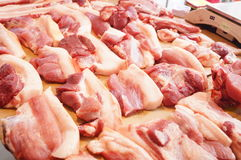 Fresh pork Stock Photography