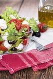 Fresh Portion of Salad with Mozzarella Royalty Free Stock Photo