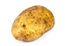Fresh Potato Royalty Free Stock Photo