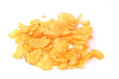 Fresh potato chips Stock Photography