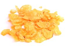 Fresh potato chips Stock Images