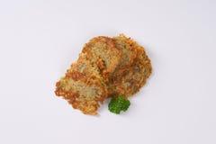 Fresh potato pancakes Stock Images