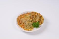 Fresh potato pancakes Stock Photography