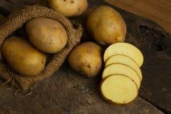 Fresh Potato at rural farm Royalty Free Stock Photos