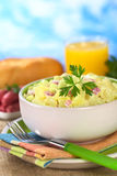 Fresh Potato Salad Stock Photos