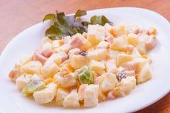 Fresh Potato Salad Royalty Free Stock Image