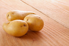 Fresh potato  . Stock Photography