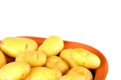 Fresh potatoes stock images