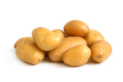 Fresh potatoes Royalty Free Stock Photos