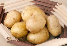 Fresh potatoes Royalty Free Stock Image