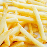 Fresh potatoes fries Royalty Free Stock Images