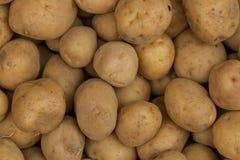 Fresh potatoes. Vegetable Market. Stock Image