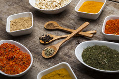 Fresh Powder spices Royalty Free Stock Photography