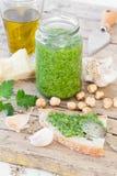 Fresh Prepared Parsley Pesto Royalty Free Stock Photography