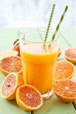 Fresh pressed blood orange juice Royalty Free Stock Photography