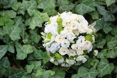 Fresh pretty wedding bouquet Royalty Free Stock Photo
