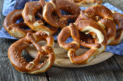 Fresh pretzels Royalty Free Stock Photos