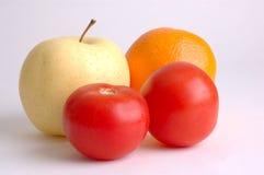 Fresh produce. Juicy fresh fruit and produce Royalty Free Stock Photos