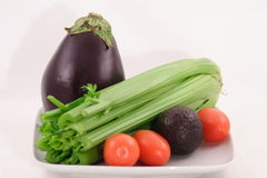 Fresh produce. Fresh organic produce part of a healthy life style Royalty Free Stock Images