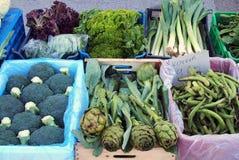 Fresh Produce, Greek Street Market Stock Photo
