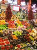 Fresh Produce at a Market Royalty Free Stock Photos