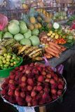 Fresh Produce Market in Leon, Nicaragua Stock Images