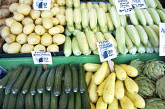 Fresh Produce At Produce Stand Royalty Free Stock Photo