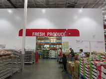 Fresh produce. Fresh product section of a super market royalty free stock photos