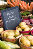 Fresh produce. On sale at the local farmers market Stock Photography