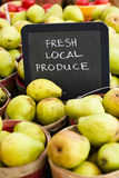 Fresh produce Royalty Free Stock Image