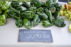 Fresh produce for sale Royalty Free Stock Photos