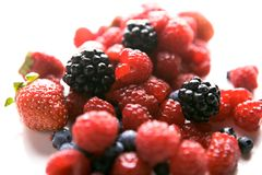 Fresh produce of tasty fruits Stock Photography