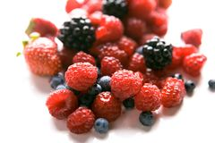 Fresh produce of tasty fruits Royalty Free Stock Photo