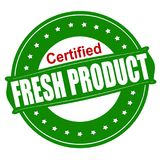 Fresh product. Stamp with text fresh product inside,  illustration Royalty Free Stock Images