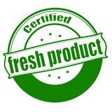 Fresh product. Stamp with text fresh product inside,  illustration Royalty Free Stock Photography