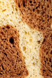 Fresh puff bread made from rye and wheat Royalty Free Stock Image
