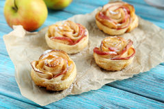Fresh puff pastry Royalty Free Stock Images