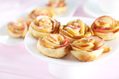 Fresh puff pastry Stock Photo
