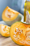 Fresh pumpkin Royalty Free Stock Photo