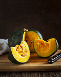 Fresh pumpkin Buttercup Stock Photography