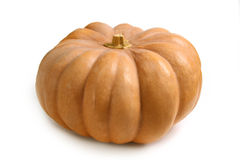 Fresh  pumpkin isolated Royalty Free Stock Photo