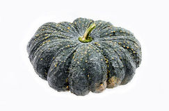 Fresh pumpkin isolated on white Royalty Free Stock Image