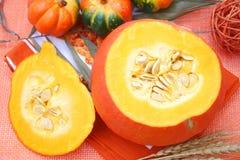 Fresh pumpkin Stock Images